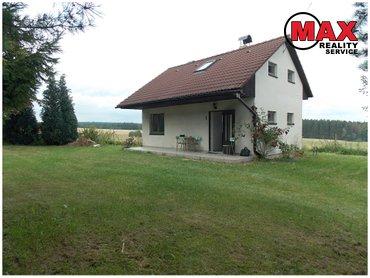 Pronájem chaty 72 m² , pozemek 528 m² , Velká Ves – Lukavec, okr. Pelhřimov 9 500,-Kč za měsíc