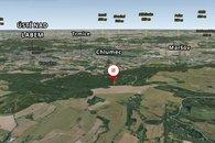 3D mapa okolí Telnice