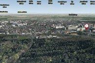 Okolí domu 3D mapa