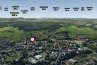 3D mapa okolí