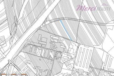 Mapa pozemku St. Město Tomeček a Crlová