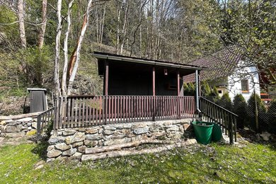 VIMPERK - pronájem  zahrady a chatky,  412 m²  - BEZ KAUCE - v případě roční platby, Ev.č.: 01586