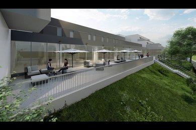 ZNOJMO - prodej novostavby bytu 3+kk, 101,2 m², terasa  31,9 m2, Ev.č.: 01620