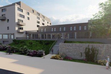 ZNOJMO - PRODEJ NADSTANDARDNÍHO BYTU 1+KK, 58,3 m² , TERASA 8,5 m², Ev.č.: 01622