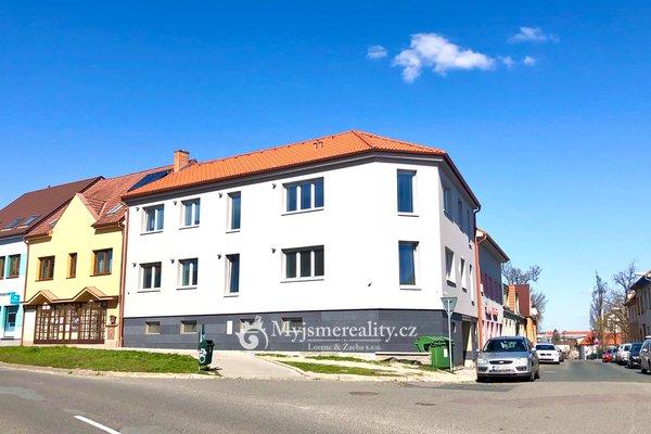 Pronájem, novostavba bytu, 2+kk, 54m² - Znojmo, ul. Krátká