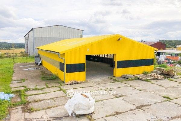 Pronájem skladovací haly, 240 m² - Únanov, okr. Znojmo