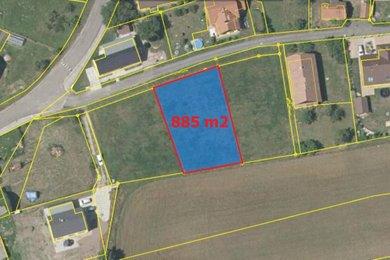 Prodej, Pozemky pro bydlení, 885m² - Dříteč, Ev.č.: 02042