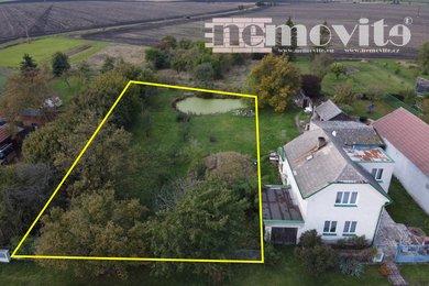 Prodej, Pozemky pro bydlení, 1399m² - Hradčany, Ev.č.: 02110