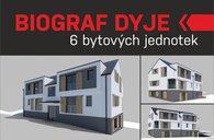 Novostavba bytu 2+kk, obec Dyje