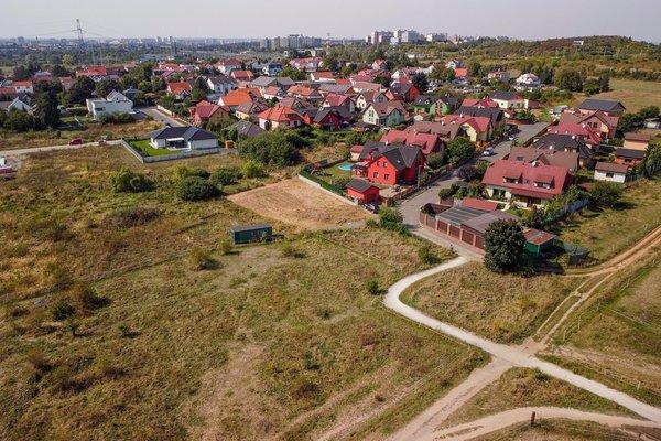Prodej stavebního pozemku o velikosti 690m2,  Praha - Šeberov