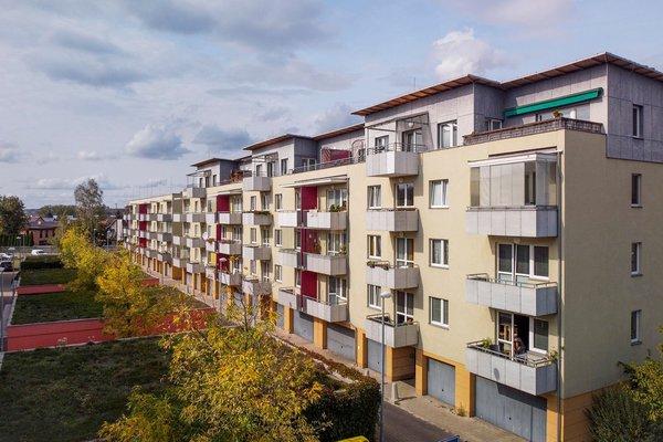 Prodej bytu 3+kk 72,95m2 s terasou (plus 12m2) a sklepní kójí v ul. Františka Diviše , Praha 10 - Uhříněves