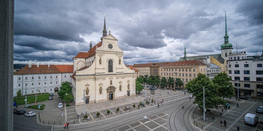Pronájem prémiových kancelářských prostor o ploše 442 m² v centru Brna na ulici Joštova