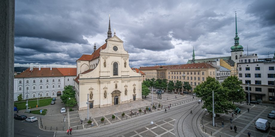 ental of premium office space with an area of 442 m² in the center of Brno on Joštova Street