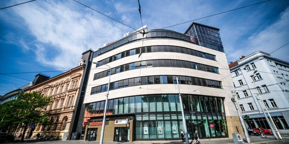 Pronájem prémiových obchodních prostor o ploše 191 m² v centru Brna na ulici Orlí