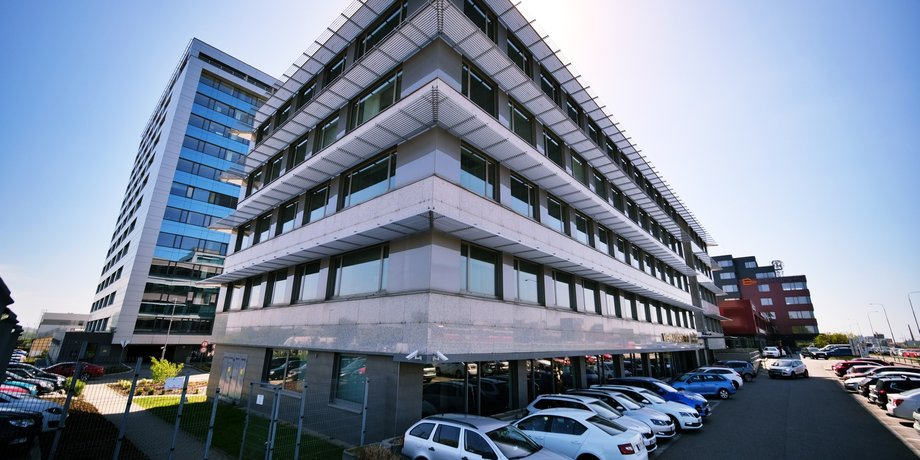 Leased office space with an area of 1000 m2 in Vienna Point on Vídeňská Street