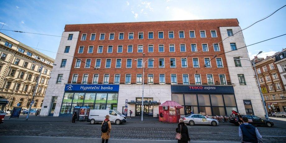 Leased office space with an area of 50 m² on Moravské náměstí