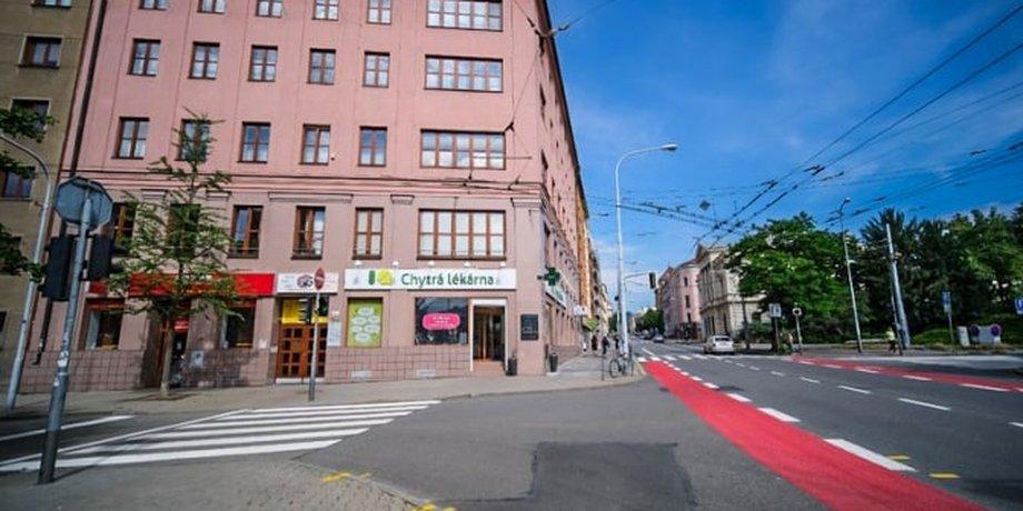 Pronájem kancelářských prostor o ploše 125 m² na ulici Slovákova