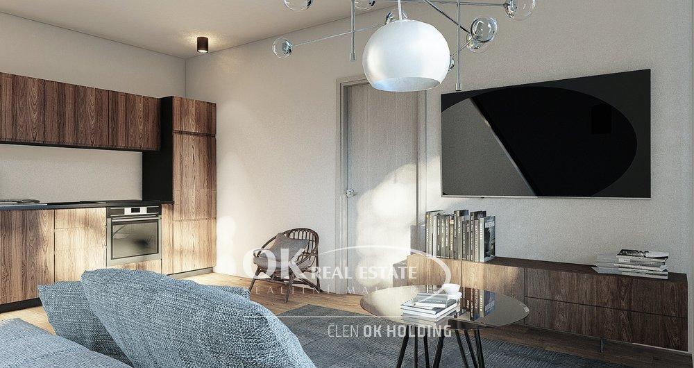 Prodej bytu 2+kk  49,01 m2 s parkovacím stáním v developerském projektu Rezidence u Aničky