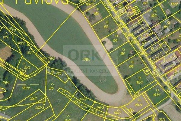 Prodej, pozemků Lechovice u Pavlova, Žádlovice, Radnice, 1056m2