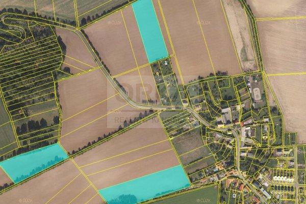 Prodej, Zemědělská půda, 42 377 m², Tršice - Hostkovice
