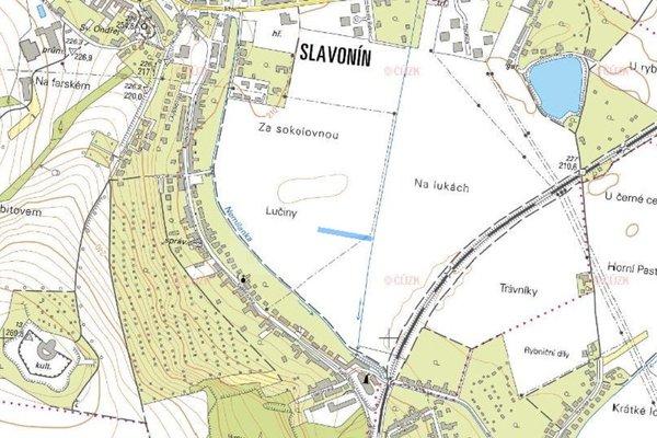 Prodej, Zemědělská půda, 1657m² - Olomouc - Slavonín