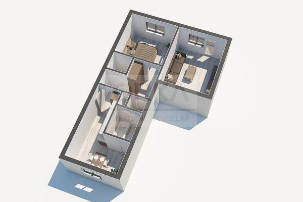 Prodej, Byty 2+1, 52m² - Zábřeh, ul. Severovýchod