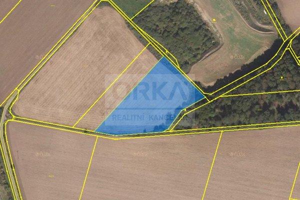Prodej, Zemědělská půda, 2743m² - Olomouc - Slavonín