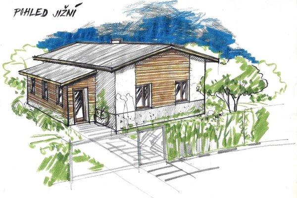 Prodej, Hrubé stavby domu vč. pozemku 613m² - Zvole