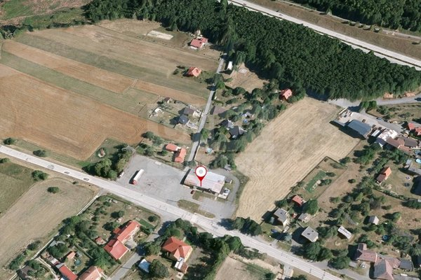 Pronájem, parkovací plochy 2662m² - Dolní Újezd - Staměřice