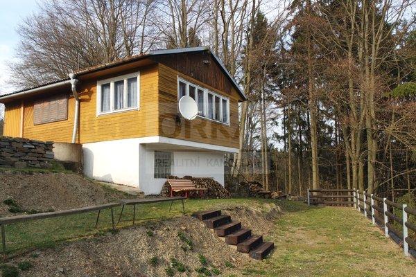 Prodej chaty s pozemky určenými k výstavbě několika rekreačních objektů, 5450m² - Zábřeh - Dolní Bušínov