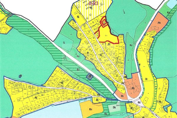 Prodej stavebních pozemků pro rekreační účely, 5450m² - Zábřeh - Dolní Bušínov