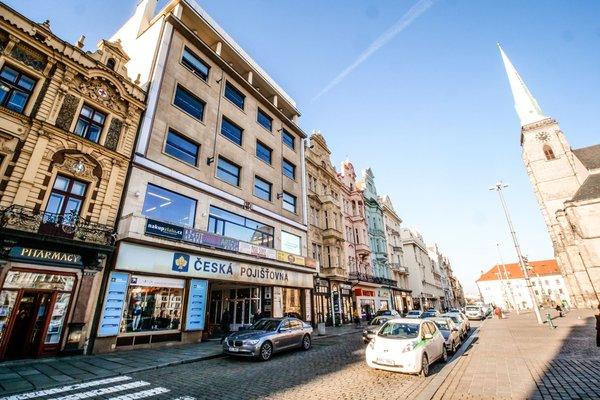 Kancelářské prostory na reprezentativním místě v centru Plzně