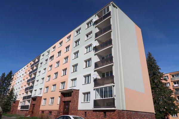 Byt 3+1 o výměře 60 m2 v Plzni na Borech, Raisově ulici