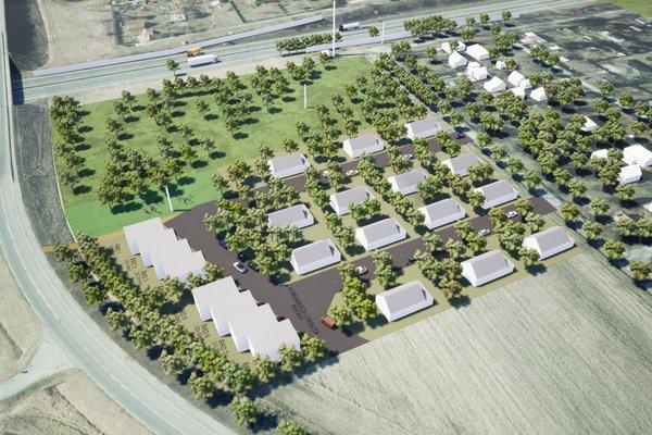 Pozemek o výměře 14.904 m2 v Plzni, vhodný pro stavbu rodinných domů