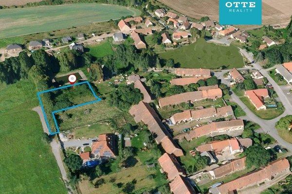 Pozemek pro stavbu rodinného domu v Robčicích u Plzně