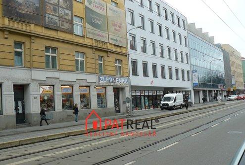 Pronájem komerčních prostor na ul. Křenová, Brno, 70m²