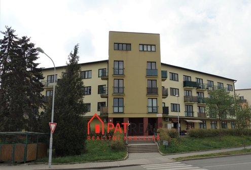 Prodej větší bezbarierové 1+kk s balkonem, ul. V Újezdech, Brno - Medlánky, 46 m2