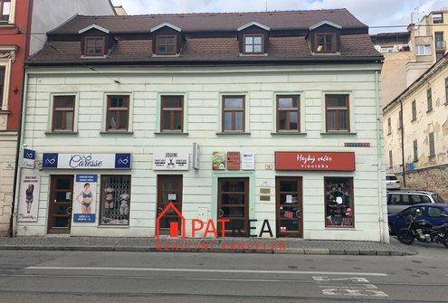 Pronájem obchodních prostorů, kanceláře 34m² v centru Brna, ul. Pekařská