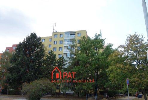 Pronájem hezkého bezbariérového bytu s lodžií 1+kk, 28m² - Brno-Starý Lískovec