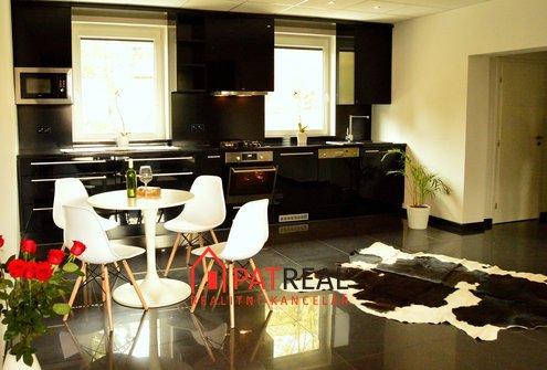 Luxusní, cihlový byt 3+kk s lodžií, 86m², po kompl. GO, Medlánky, ul. Třešňová
