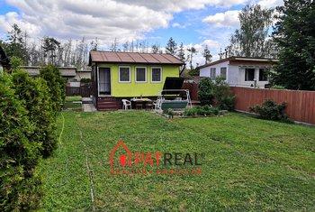 Prodej chaty se zahradou, 29m² + 301m² pozemek - Nebovidy, pozemek 301 m²