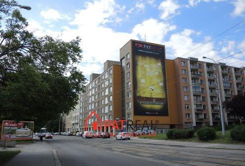 Pronájem velké reklamní plochy na ul. Palackého třída, Brno-Královo Pole
