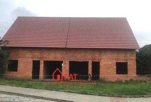 Prodej hrubé stavby rodinného domu 6+kk, 165m² - Brno - Soběšice, pozemek 274 m²