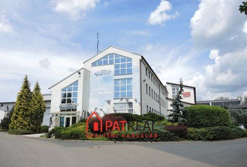 Pronájem skladových prostor s kancelářským zázemím v Brně-Slatině