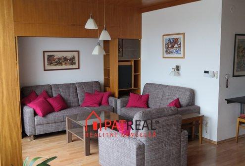 Pronájem bytu 3+1 s pracovnou a šatnou, 104m² - Brno - Jeřabinová