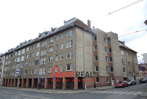 OV 1+1, 39m², terasa, půda - ulice Palackého třída, Brno-Královo Pole