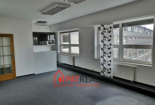 Pronájem kanceláří, 85m² - Brno - Příkop IBC