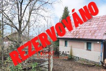 Zděná chata 56 m² se zahradou 1112 m²  - Želešice, pozemek 1.112 m²