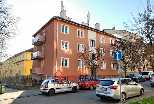 OV 2+1 - 61m², balkon, zahrada - ulice Berkova, Brno-Královo Pole