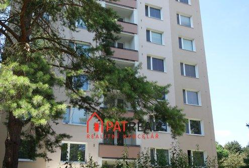 Pronájem zařízeného bytu 1+kk, 24m² - Brno - Bystrc